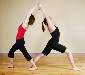 partner yoga workshop